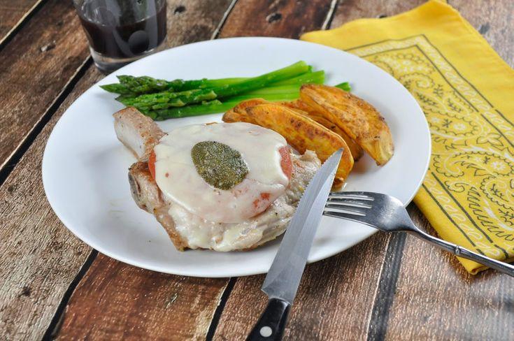 Ciao Chow Linda: Stuffed Pork Chops