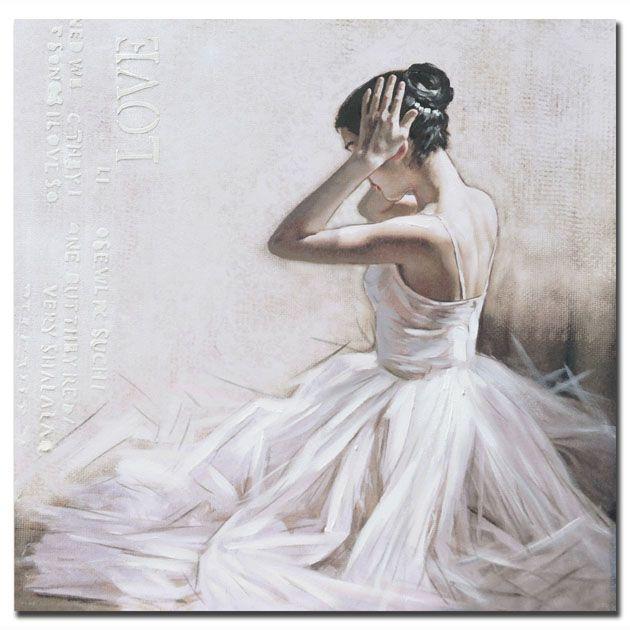 Πίνακας Μπαλαρίνα με λευκό φόρεμα_ πλαϊνό http://www.lovedeco.gr/p.Pinakas-Mpalarina-me-leyko-forema-plaino.905259.html