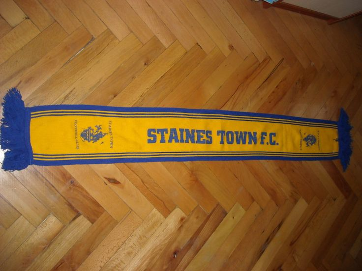 Staines Town FC Buy it from www.ScarvesForSale.eu