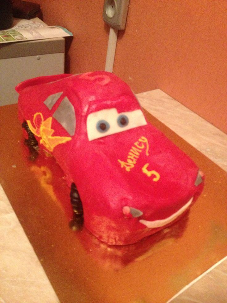 Cake Car McQueen