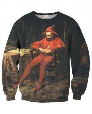 STAŃCZYK Bluza Bez Kaptura Full Print Blogerska Hipsterska