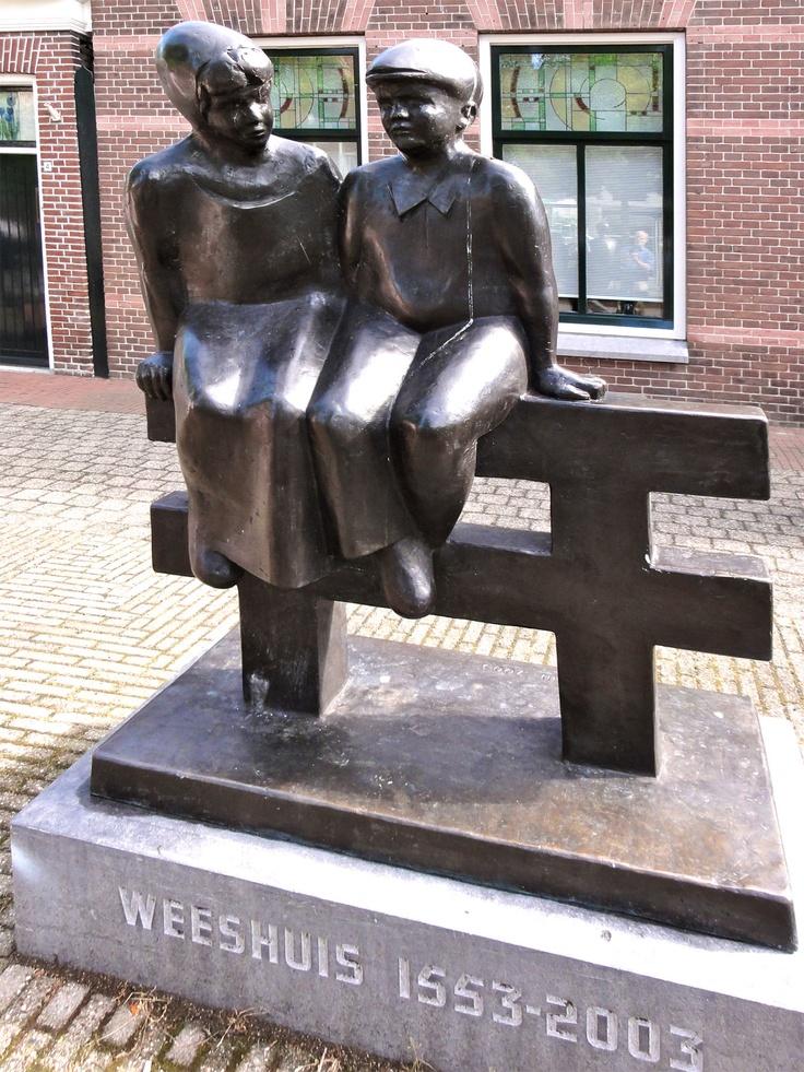 Gosse Dam, Weeskinderen, Bolsward, Friesland.