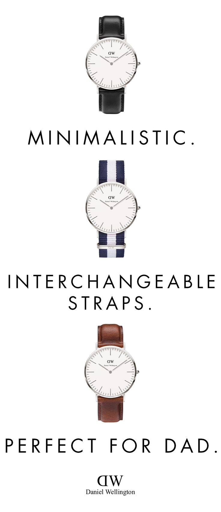Give the gift of time this Father's Day! Our elegant and timeless watches start at $135, and comes with free shipping.