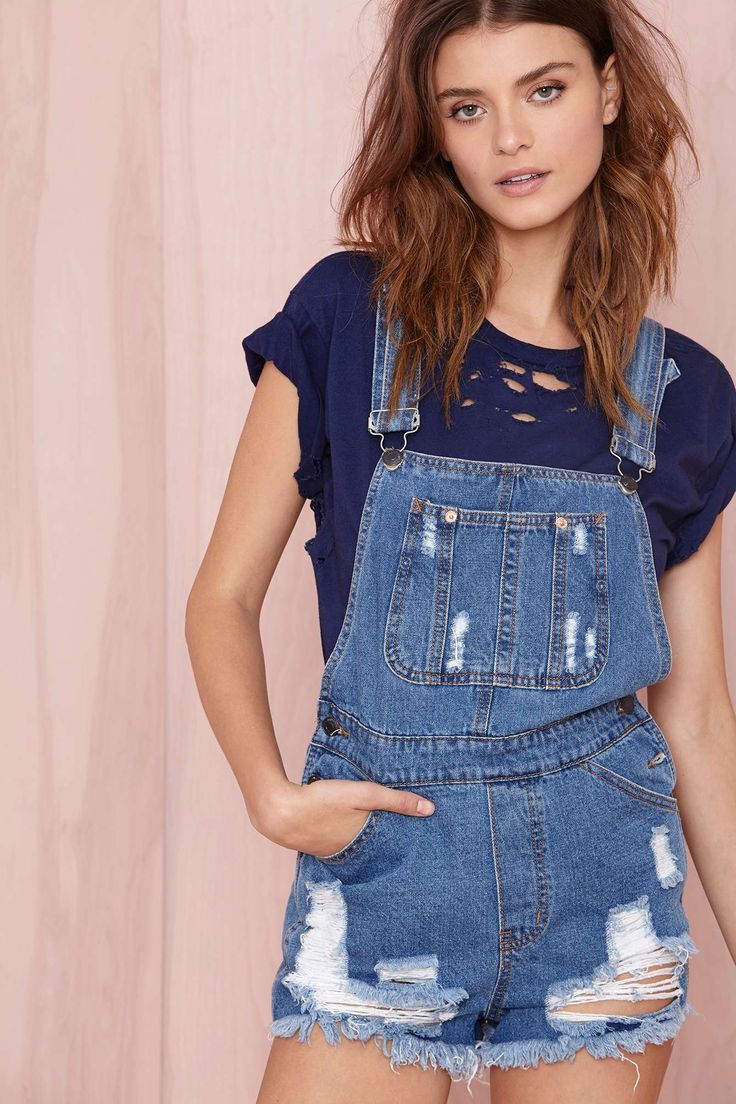 Elise Shortalls   Shop What's New at Nasty Gal