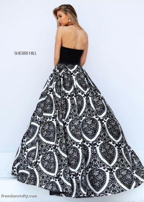 97075a0e6d2 Sherri Hill 50577 Print Ball Gown