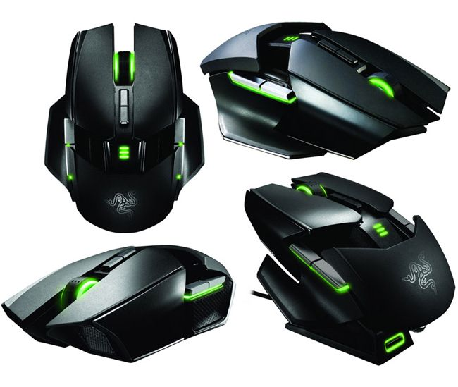Razer Ouroboros Ambidextrous Mouse for gamers - Priced at $ 130, this is equipped with a number of awesome features including a 8200dpi 4G Dual Sensor System, together with 1ms gaming-grade Wireless Technology, and is Razer Synapse 2.0 enabled.