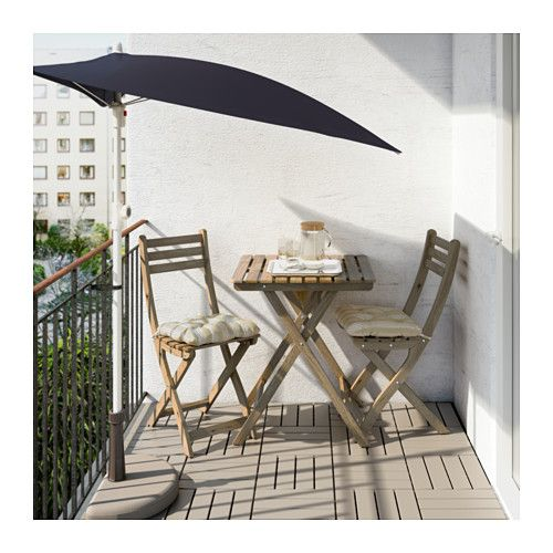 ASKHOLMEN Table, outdoor IKEA Perfect for your balcony or other small spaces as it can be folded up and put away.