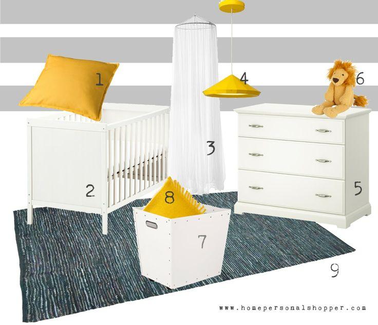 Baby 39 s room 1 gurli ikea 2 sundvik ikea 3 bryne - Habitaciones infantiles ikea ...