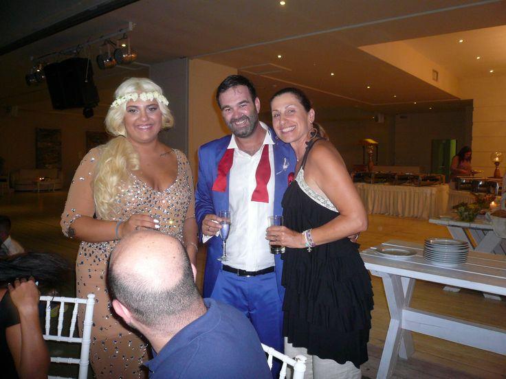 Christina & Apostolis & Anna Remoudaki  so perfect couple , thank u 4 your trust !!