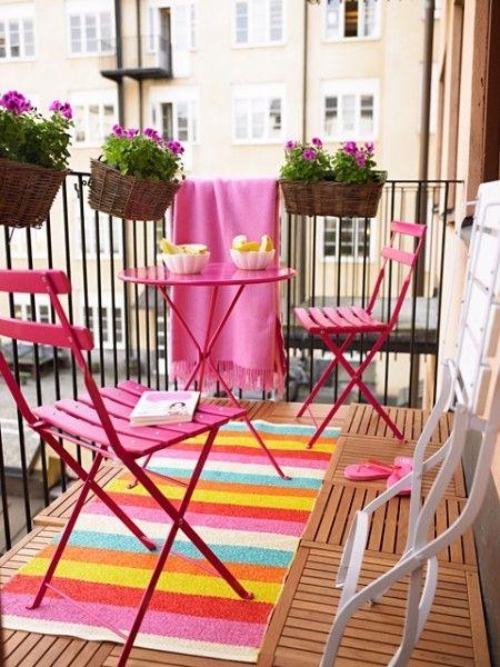 Balcony decoration idea
