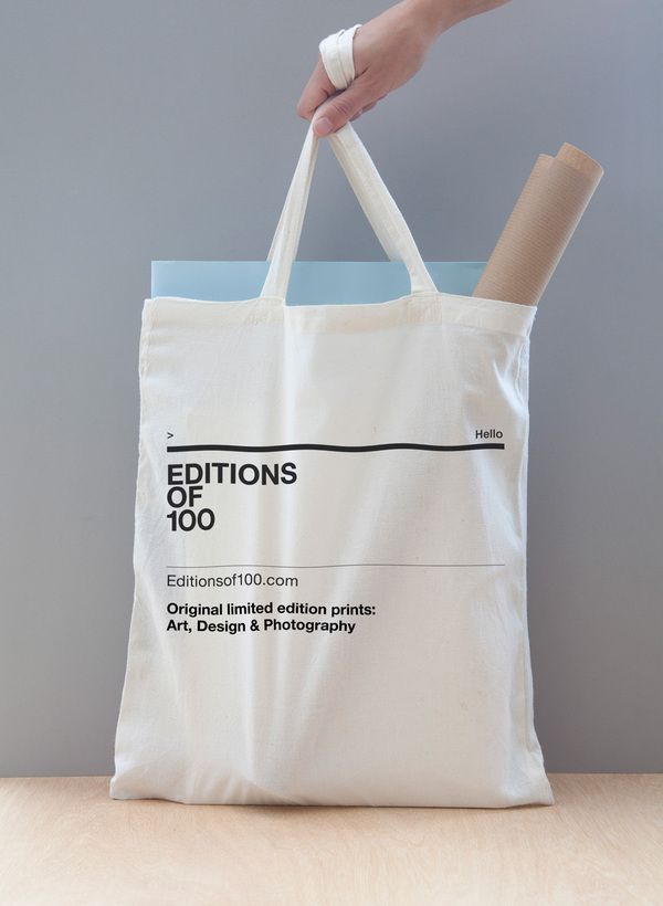 Editions of 100 on the Behance Network