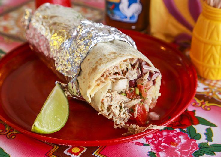 Cholosta aitoa meksikolaista katuruokaa.