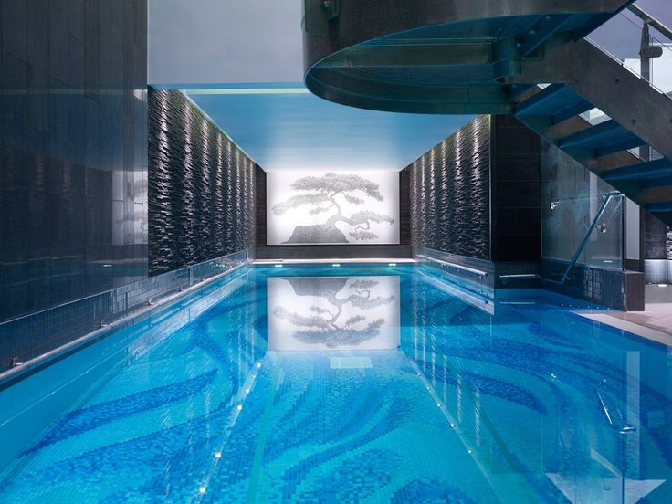 The Langham London United Kingdom Indoor Pool Is Part Of Famed Chuan Spa First Its Kind In