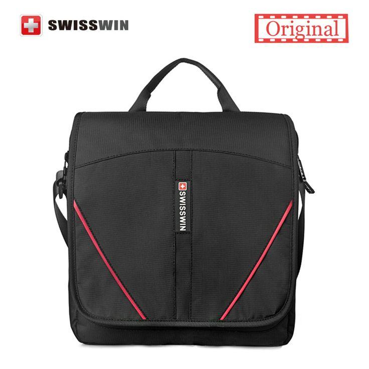 Swisswin mężczyzna przypadkowa torba na tablet i telefon komórkowy swe1006 wenger swissgear czarny mężczyzna mała torba na ramię   32587630640_pt