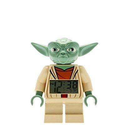 Chollo en Amazon España: Reloj despertador LEGO Star Wars de Yoda por solo 19,95€ (un 50% de descuento sobre el precio de venta recomendado y precio mínimo histórico)