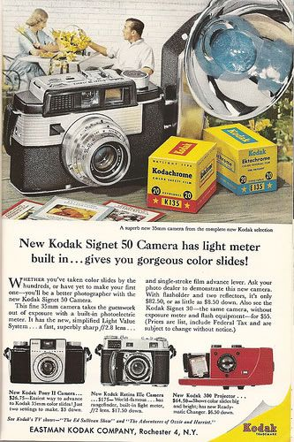 50 Vintage Camera Ads - Part 1 | Abduzeedo Design Inspiration
