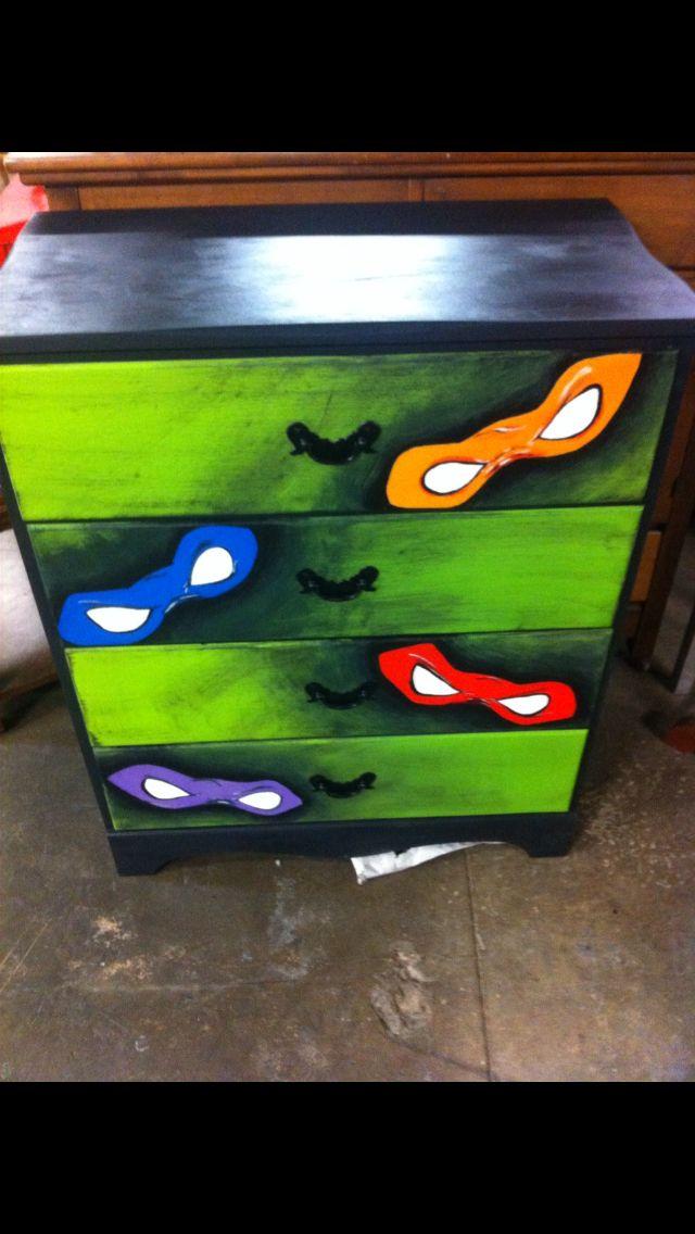Ninja turtles dresser