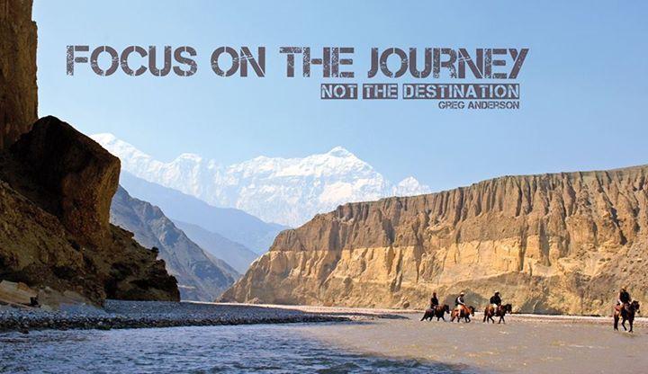 It's the journey that counts !!! #nepal #trekking #adventure #travel #wanderlust #himalayas