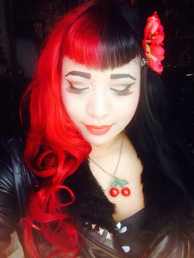 rot-and-roll: Haven't done a selfie in awhile..redyed my ...