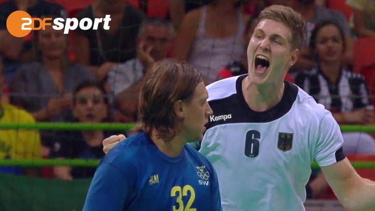 Deutschland : Schweden -32:29 - Die Schlussphase|Handball | ZDF – Oly...