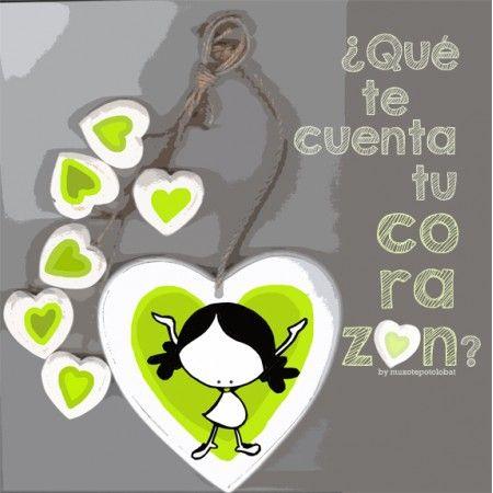 "Lámina ""Cuenta corazon"""