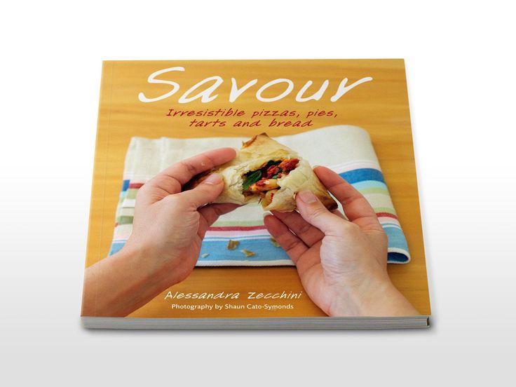 Savour cookbook cover