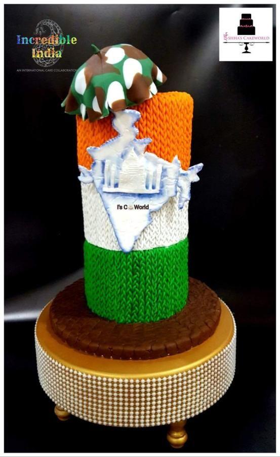 United India - cake by IshhasCakeworld