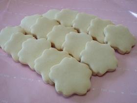 卵なし☆メープルさくさくクッキー