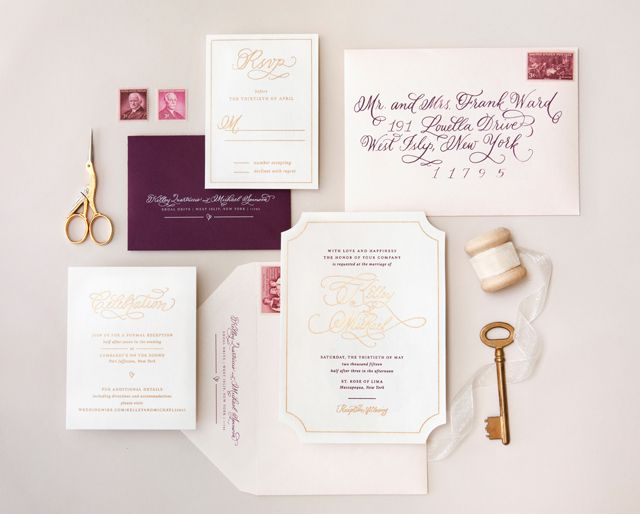 39 best invitation styling images on Pinterest