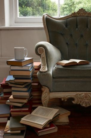 """You can never get a cup of tea large enough or a book long enough to suit me.""  C.S. Lewis"