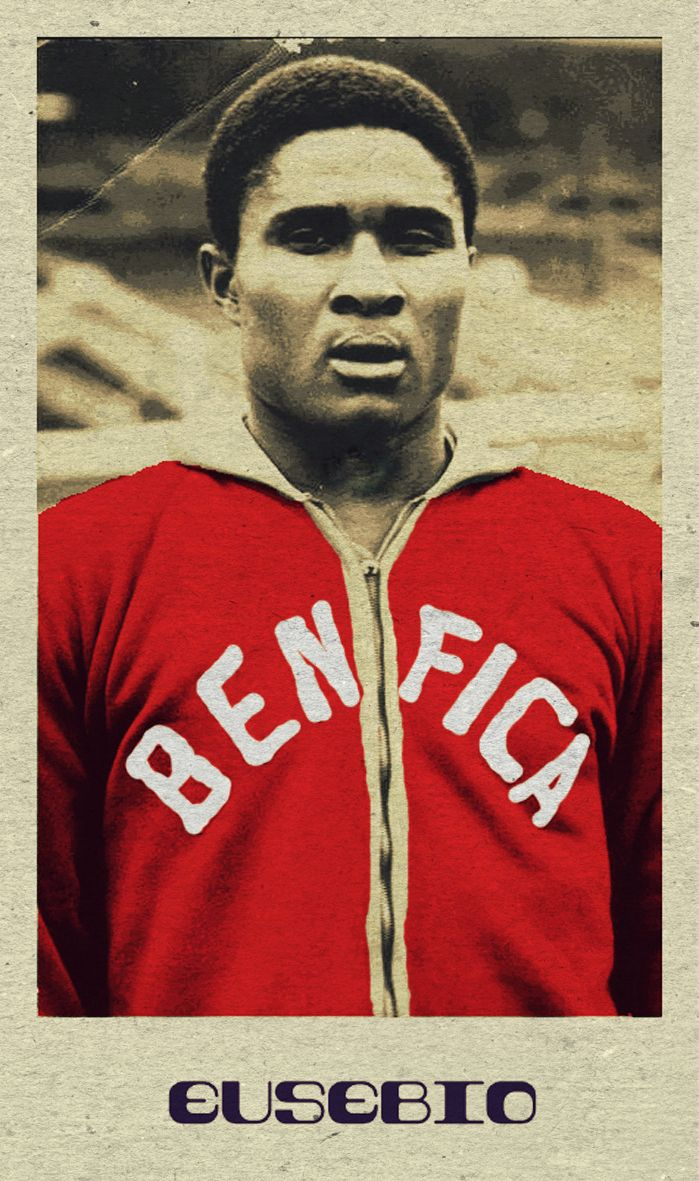 Eusebio - Benfica - One of the Great One's