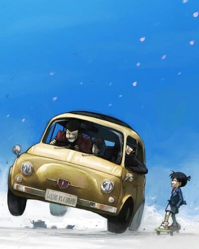 Lupin the 3rd & Conan