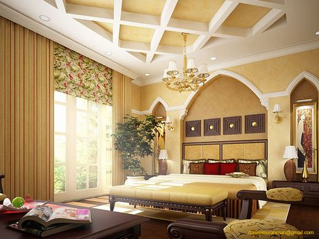 96 best images about villa interior on pinterest modern for Arabic bedroom ideas