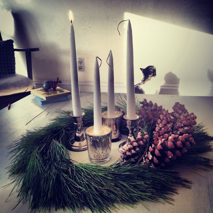how to use an advent wreath