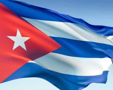 Cuba - The flag is part of every country's brand. Here's Cuba's flag.