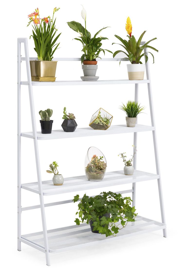 New Iron Mesh Plant Stand A