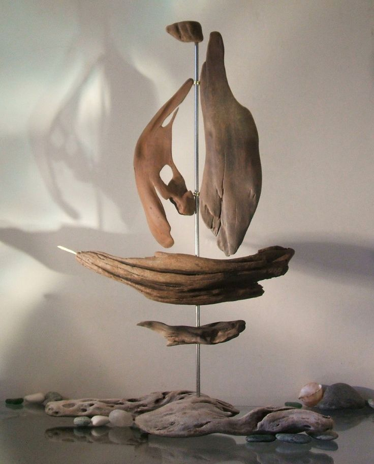 855 best images on pinterest for Driftwood sculpture ideas