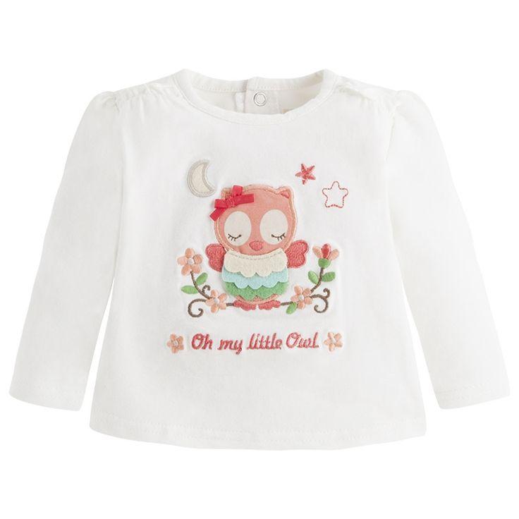 Mayoral Kız Bebek Uzun Kol T-shirt   Mayoral Kız Bebek Uzun Kol T-shirt,Mayoral Kız Tişört,Mayoral Kız Bebek Polo Yaka Tişört