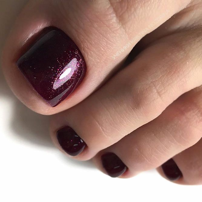 25 Trendy Ideas Of Homecoming Nails To Finish A Lovely Look Toe
