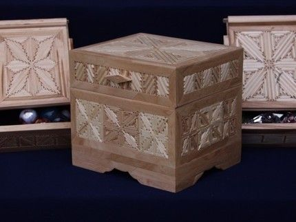 How To Make A Jewelry Box Out Of Popsicle Sticks