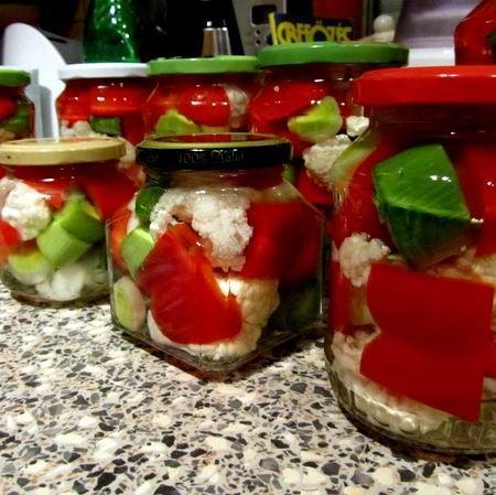 Karfiolos pritamin póréhagymával (savanyúság) Recept képpel - Mindmegette.hu - Receptek - Befőzés