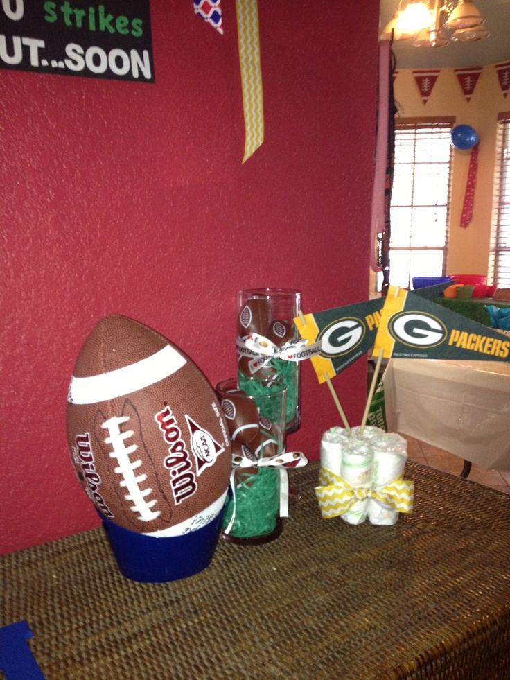 baby shower baby shower pinterest themed baby showers football