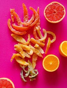 Rainbow Candied Citrus Peel