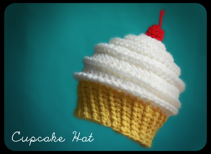 Made another one of those cute cupcake hats. Pattern by Unravel Me. Soooo cute!