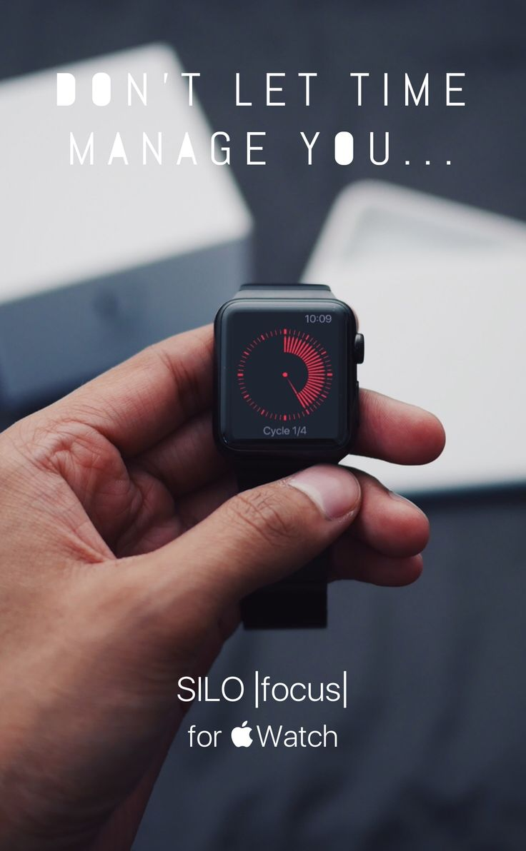Silo uses the Taptic Engine on the Apple Watch to nudge you to focus and take breaks. This gives you the motivation to get stuff done. Like the pomodoro technique, where you focus on a task for 25 minutes followed by a short 5-minute break, Silo helps you avoid distractions and boosts your productivity.