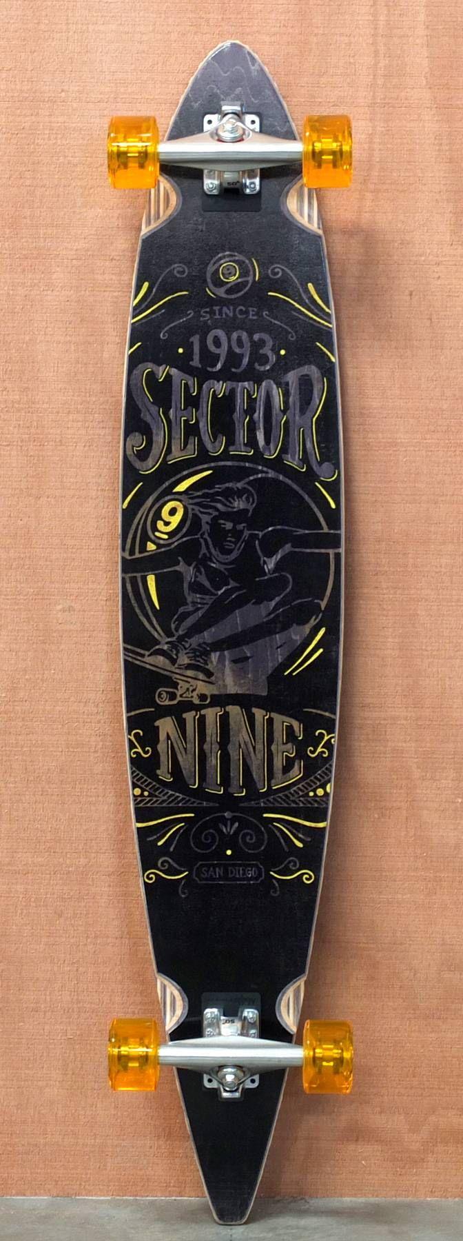 """Sector 9 46"""" Bert Longboard Complete"""