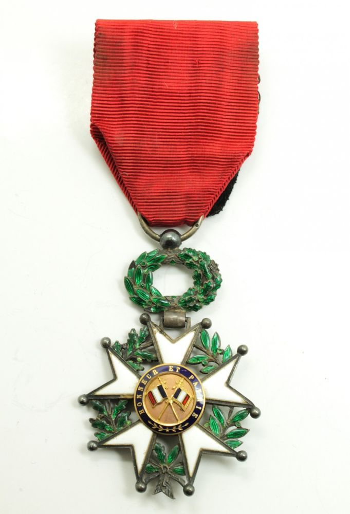 This is a handsome estate found National Order of the Legion of Honour medal awarded during the 3rd Republic. The medal was awarded to those who served with excellent civil or military conduct. It is the highest French order for military and civil merits. | eBay!