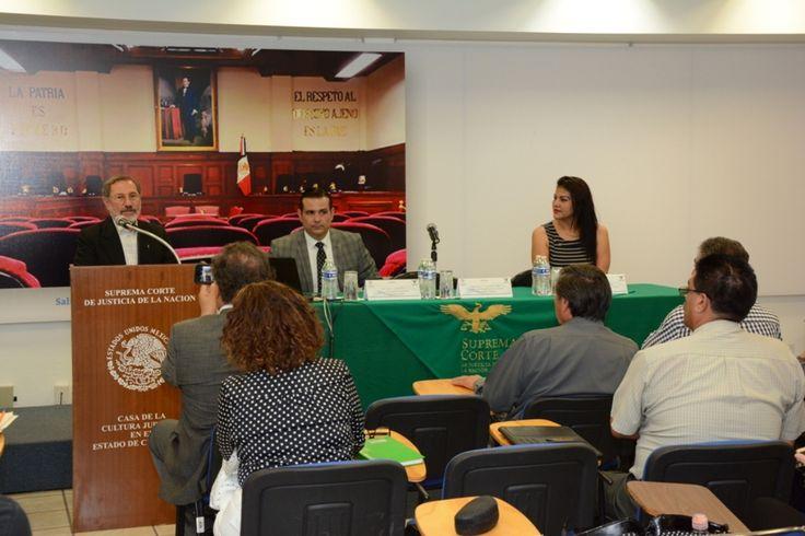"""<p>Chihuahua, Chih.- """"El Instituto de Formación y Actualización Judicial (INFORAJ) es una escuela de puertas abiertas para profesionalizarse"""