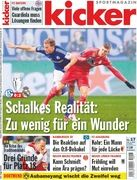 Höwedes and Kroos on the cover of kicker. Feb 2015 Champions League Schalkes vs Real Madrid