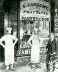The first Sargent Shop at 390 Oxford St,Paddington in eastern Sydney in 1891.